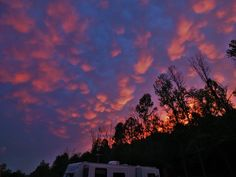 Wouldn't you love to see a sky like this while camping in the Smokies!!!