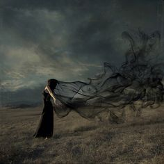 Spirits In The Black Mist - Surrealistic Photography by trini61  <3 <3