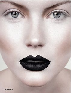 Beauty Editorial - Expressing Perfection, hair and makeup by Marianna Mukuchyan for HUF Magazine issue 17 - HUF Magazine