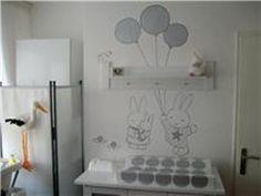 debzys muurschildering - draakje dirk den bosch | kinderkamer, Deco ideeën