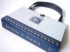 Book Purse Jane Austen  Emma Book Handbag Designer by retrograndma, $45.00