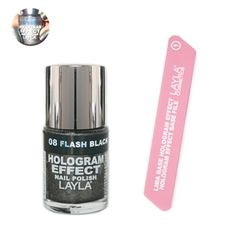 I just bought Fever to Tell Hologram Polish Set from Layla Cosmetics Hologram Effect on sneakpeeq!
