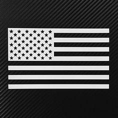 American Flag Die-cut Vinyl USA