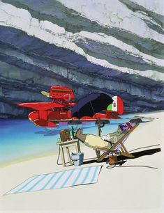 Porco Rosso A very under-appreciated Ghibli anime - probably one of my favourites of Miyazaki's. Hayao Miyazaki, Studio Ghibli Films, Art Studio Ghibli, Naruto Shippuden, Wallpaper Animé, Manga Anime, Anime Naruto, Isao Takahata, Japanese Film