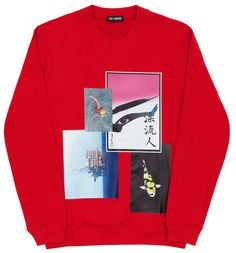 Raf Simons, Photo Sweater (Red)