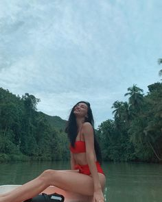 "Kylie Verzosa on Instagram: ""Promise i'm almost done 🤚🏽 Taking in all of 2018🌹 #LobocRiver"" Kylie Verzosa, I Promise, Bikinis, Swimwear, Womens Fashion, Travel, Instagram, Art, Bathing Suits"