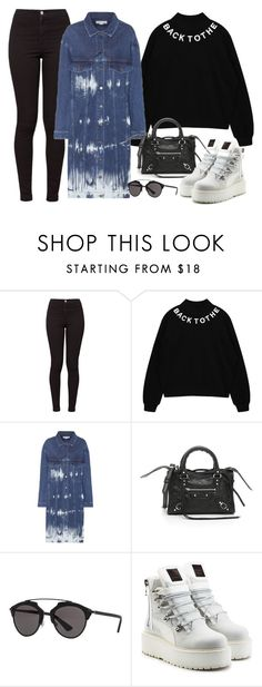 """Sin título #2677"" by camila-echi ❤ liked on Polyvore featuring American Apparel, STELLA McCARTNEY, Balenciaga, Christian Dior and Puma"