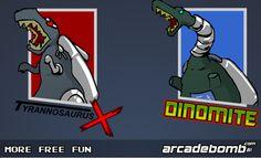 لعبة الديناصورات الآلية لعبة حلوة من العاب اكشن الرائعة جداً علي العاب فلاش ميزو.