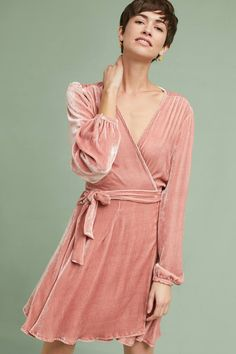 Shop the Yumi Kim Velvet Wrap Mini Dress and more Anthropologie at Anthropologie today. Read customer reviews, discover product details and more.