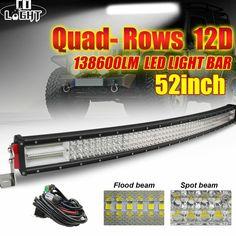 Offroad Led Light Bar 12D 924W 744W 564W 384W Led Bar Light Spot Flood Led Beams #COLIGHT