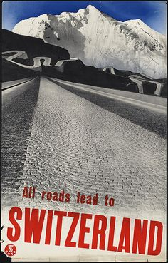 All roads lead to Switzerland by Boston Public Library, via Flickr