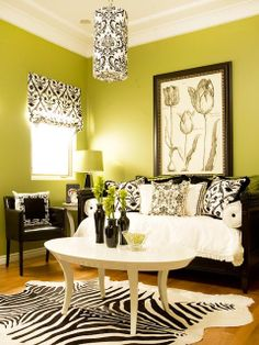 Green Living Room Ideas      #home #interior