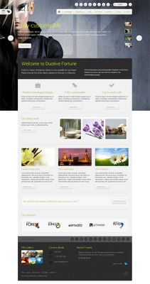 Duotive Fortune V.1.1 is a beautiful WordPress Theme with many features, there is fast and powerful Duotive admin panel to control the theme. Many options available for you to choose color of the theme and the background.