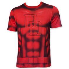 495d2c8ef4d Daevil Sublimated Costume Tee Shirt Daredevil Costume