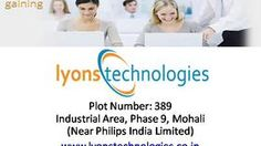 Shape your future towards success....approach for the best six months industrial training in Chandigarh and Mohali at Lyons Technologies.