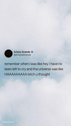 mood wallpaper quotes funny Ariana Grande iPhone Wallpaper my insta: Alexa G. Tweet Quotes, Twitter Quotes, Mood Quotes, Quotes Quotes, Happy Quotes, Funny Iphone Wallpaper, Mood Wallpaper, Quotes For Wallpaper, Cute Wallpapers With Quotes