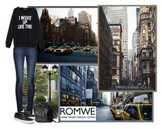 """Romwe.com - Contest!"" by asia-12 ❤ liked on Polyvore featuring Universal Lighting and Decor, Cyan Design, CB2, Emissary, Gama Sonic, Nearly Natural, DL1961 Premium Denim, Vans and H&M"