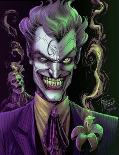 the joker.... Care to smell the flower?