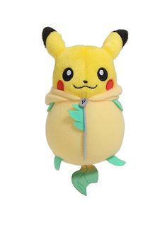 Banpresto Pokemon Leafeon Nebukuro Sleeping Bag Pikachu Plush,