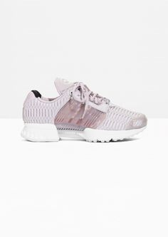 Other Stories image 1 of Adidas Climacool in Pink Neck T Shirt, Trainers, What To Wear, Athletic Shoes, Ready To Wear, Adidas Sneakers, Street Wear, Leggings, Running