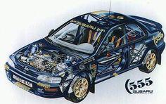 #subaru 555 cutaway