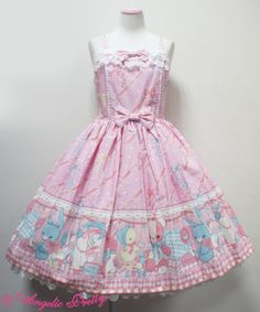 Angelic Pretty MELODY TOYSジャンパースカートSet