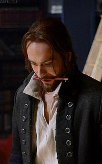 Working through my oral fixation ideations. I think there will be many episodes devoted to it in S3 #SleepyHollow