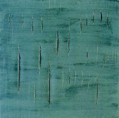 """Lucio Fontana  """"Concetto Spaziale""""  1958"""
