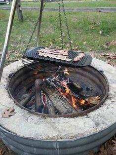 Resultado De Imagem Para Campfire Tripod