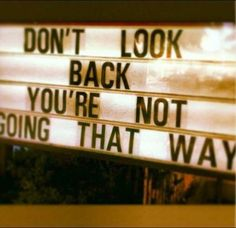 Nothing to look back for, I didn't drop or lose anything....