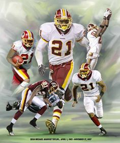 For any fan of the man and the player, this print will be the ultimate addition to your wall and your collection. A truly breathtaking work of football art! Redskins Baby, Redskins Football, Football Art, Football Helmets, Redskins Helmet, Football Season, Nfc East, Football Conference, Sports Figures