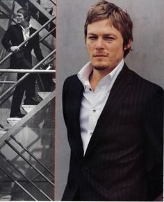 Loved him in Boondock Saints and he's my fave on The Walking Dead :D