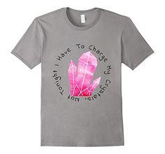 524cd27760e Men s MermaidsAndManaTees Charge My Pink Crystals T-Shirt... https