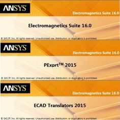 Ansys Electromagnetics Suite v16.0 (x64) (08/04/15)