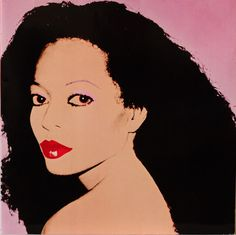 Diana Ross by Andy Warhol, 1982