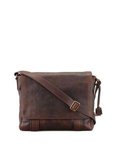 Logan Flap Messenger Bag by Frye at Neiman Marcus.