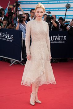 CATE BLANCHETT WEARING ARMANI PRIVÉ – 39TH DEAUVILLE'S US FILM FESTIVAL OPENING CEREMONY