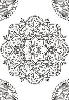 Mandala fleur simple unique doodle art doodle it. Mandala Art, Mandala Design, Mandalas Painting, Mandalas Drawing, Mandala Coloring Pages, Mandala Pattern, Zentangle Patterns, Colouring Pages, Adult Coloring Pages