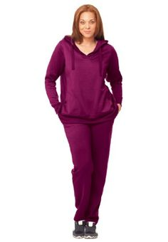 Fleece hoodie set