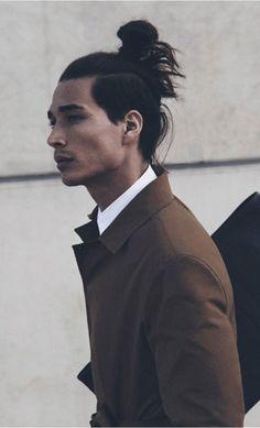 samurai hairstyle - Google Search