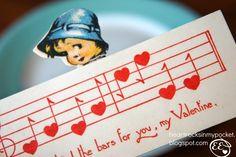 Heart Rocks in my Pocket: Vintage Valentines