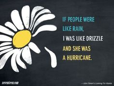 The Best John Green Quotes: Looking for Alaska