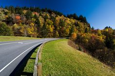 Taking a drive through the Smoky Mountains National Park is one of the most peaceful drives.