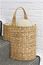 Stair Basket...I need one of these.