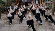 Asian martial arts as the most beautiful and elegant way of training