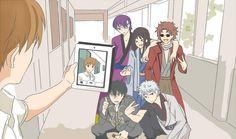 Nyanyan - Otaku do Ataku! Otaku, Gintama Funny, Gintama Wallpaper, Okikagu, Japanese Aesthetic, Character Design Animation, Anime Angel, Manga Games, Anime Figures
