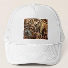 Moonshiners Making White Lightning Liquor Trucker Hat #science #nature #sports baseball girlfriend, baseball pictures, baseball art, back to school, aesthetic wallpaper, y2k fashion