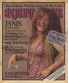 Janis Joplin, Rolling Stone Magazine