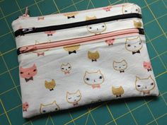Make a Gift – Three Zipper Pouch – penny sew vintage