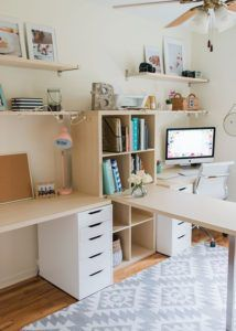 So make sure you design your home office exactly how you want from the perfect colors. See more ideas about Desk, Home office decor and Home Office Ideas. Home Office Layouts, Home Office Organization, Home Office Space, Home Office Design, Home Office Decor, Home Design, Office Desk, Office Storage, Organization Ideas